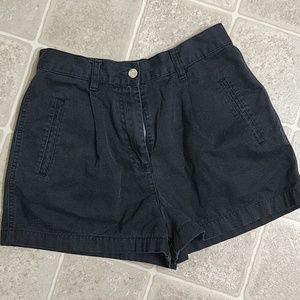Ann Taylor Loft black jean shorts!